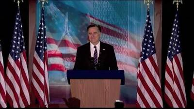 News video: Mitt Romney will not make 3rd attempt for President